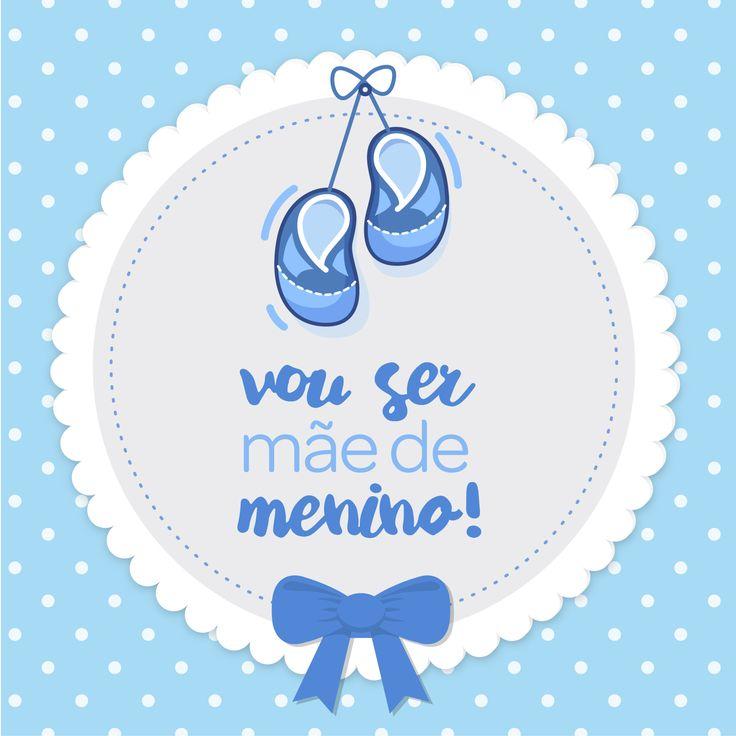 Vou ser mãe de menino! It's a boy | Encontre todos os mimos e enxovais para o seu menino em nossa loja . www.lojapapi.com.br