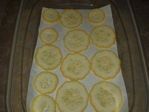 freezing squash-prep for frying