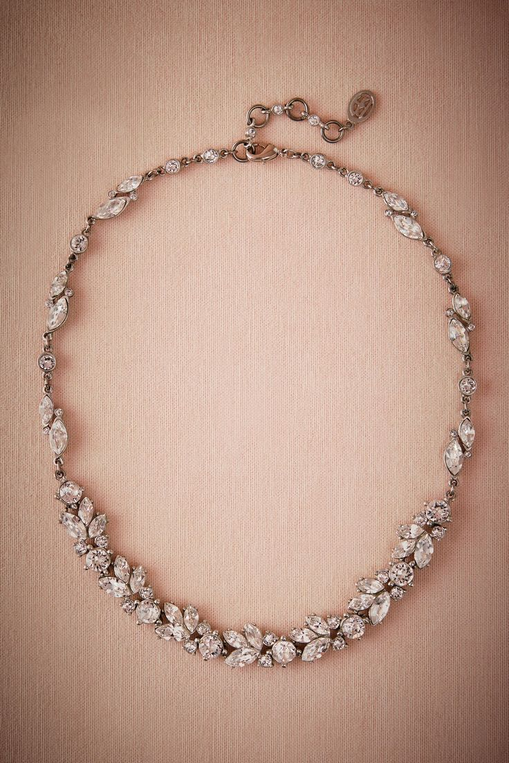Nerea Crystal Necklace from @BHLDN