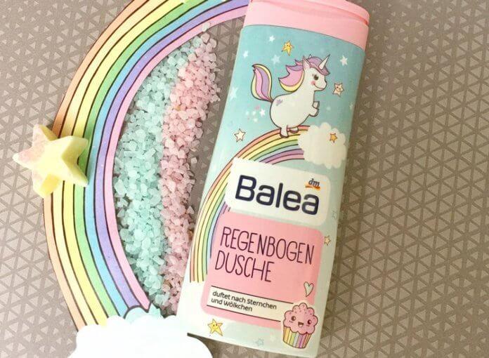 Balea Einhorn Duschgel dm Regenbogen Dusche