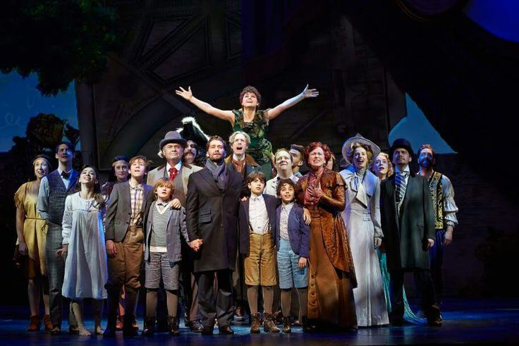 The cast of Finding Neverland- so many wonderful people!