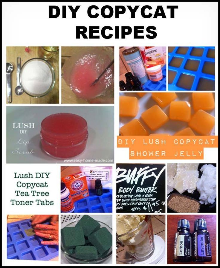 Ever wanted to make your own Lush Bath Products DIY?  These copycat recipes with help you get pretty close to the real thing!