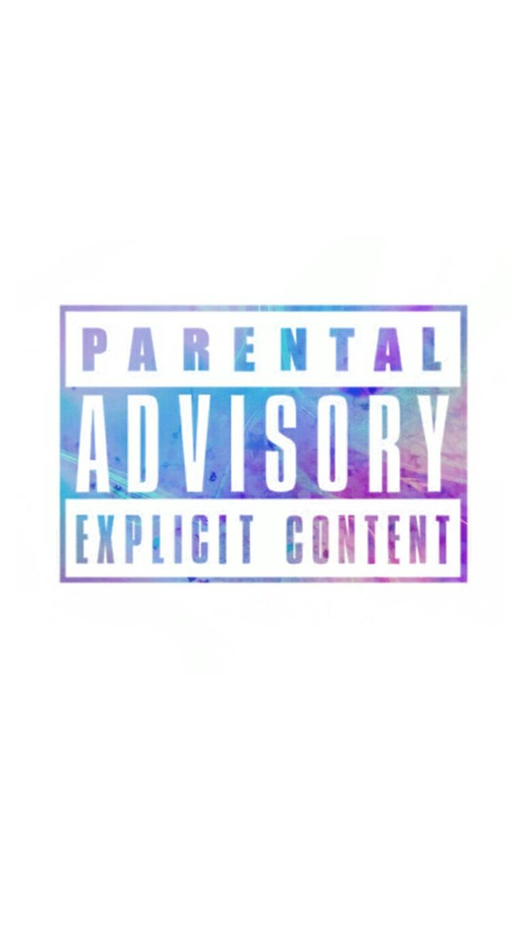 Another edited parental advisory label...