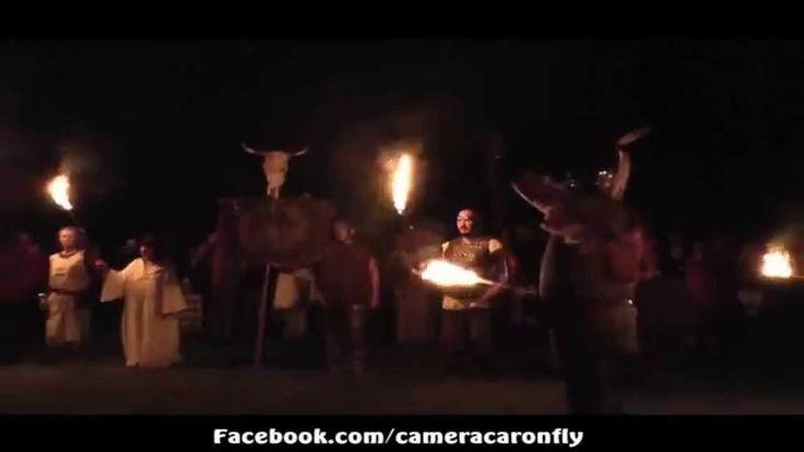 Riprese Aeree Drone Festa Celtica Axa Briga 2014 - il Viaggio dell'Anima
