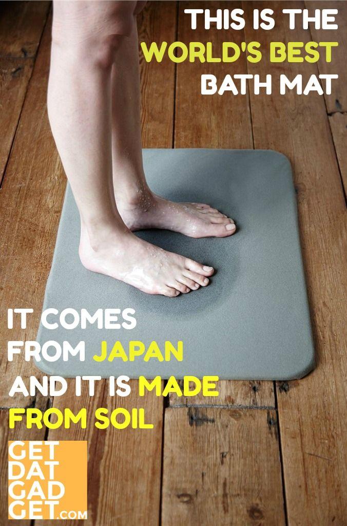 Soil Bath Mat World S Best Bath Mat Getdatgadget In 2020 Bath Mat Best Bath Small Kitchen Decor
