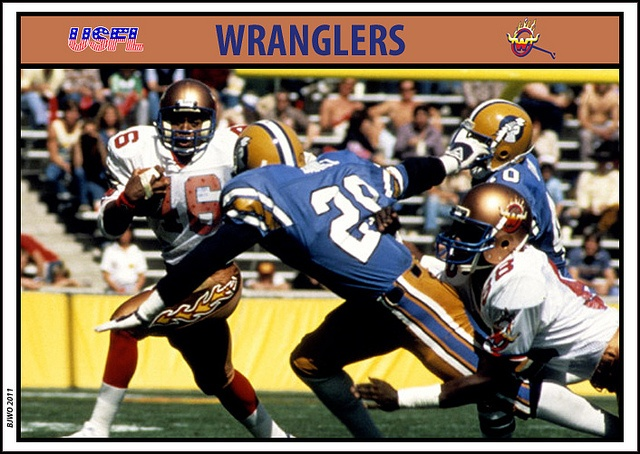 71 best usfl images on pinterest sports teams american football usfl arizona wranglers digging that flame pants stripe sciox Gallery