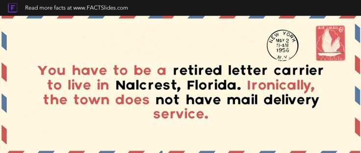 You have to be a retired letter carrier to live in Nalcrest - retirement letter samples