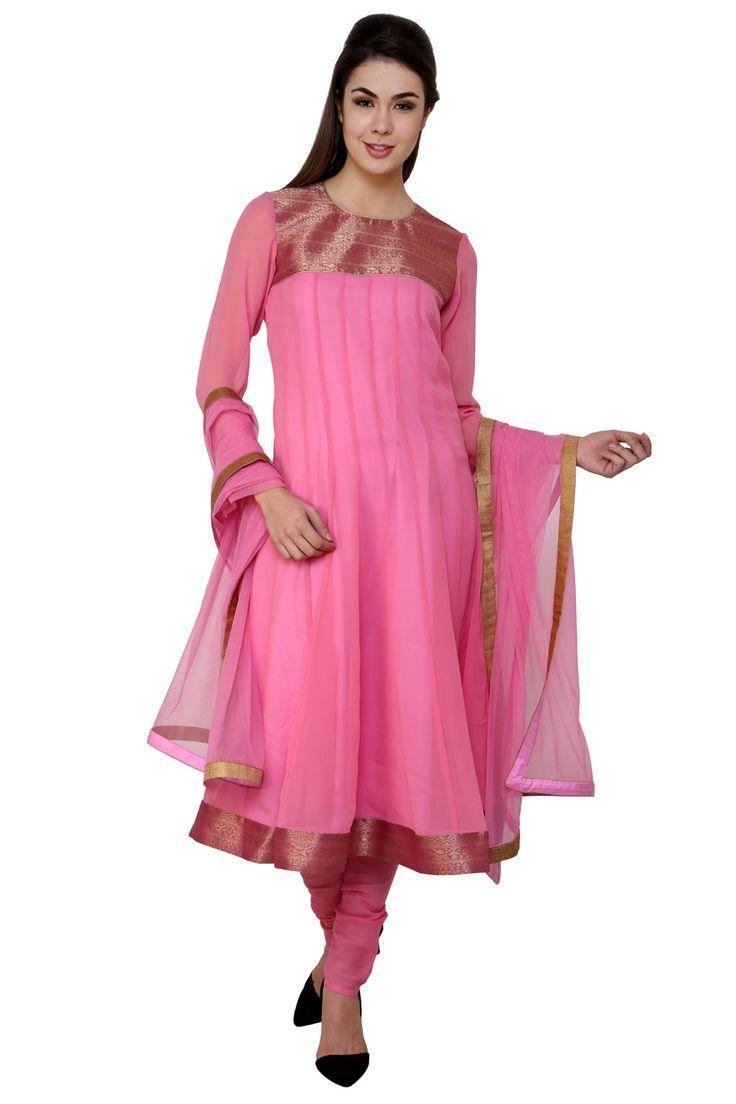 #designer #anarkali #suits @  http://zohraa.com/pink-faux-georgette-readymade-suit-z1812pvo-1020-91.html #anarkali #suits #celebrity #anarkali #zohraa #onlineshop #womensfashion #womenswear #bollywood #look #diva #party #shopping #online #beautiful #beauty #glam #shoppingonline #styles #stylish #model #fashionista #women #lifestyle #fashion #original #products #saynotoreplicas
