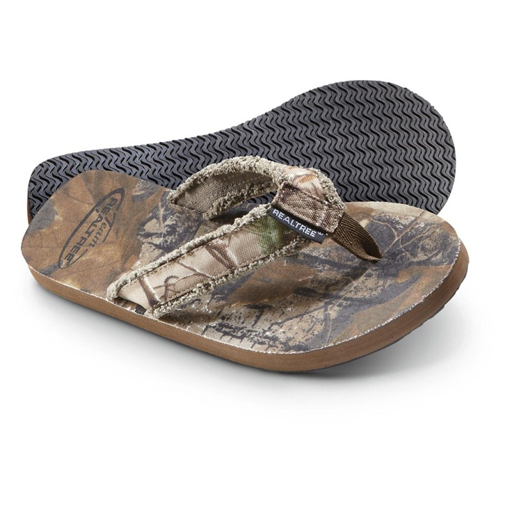 Team Realtree® Mallard Sandals. Great for the Groom and Groomsmen!