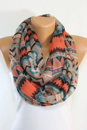 ON SALE Standout Southwestern Scarf Tribal Scarf Ethnic Scarf Native Scarf Aztec Scarf Spring Scarf Fashion Accessories Gift Ideas ESCHERPE on Etsy, $14.99 by shanna