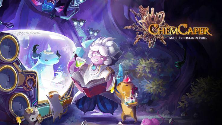 Game Kimia ini merupakan hasil kolaborasi antara Artoncode Indonesia dan ACE EdVenture Malaysia, didukung juga oleh komposer ternama Norihiko Hibino (Metal