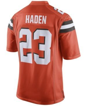 Nike Men's Joe Haden Cleveland Browns Game Jersey - Orange XXL