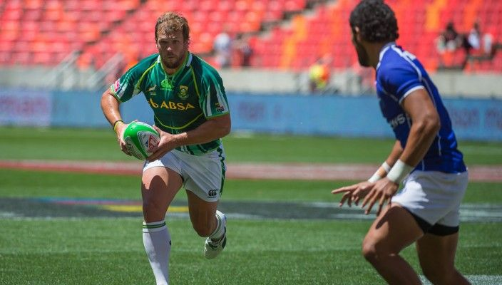 South Africa undefeated at Roma Sevens: Day 1