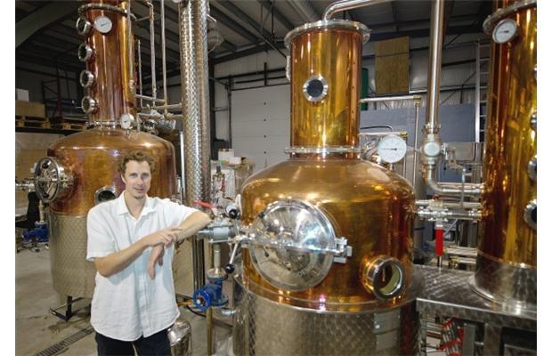 Tyler Schramm is master distiller of Pemberton Distilleries, one of a handful of artisan distilleries in B.C.
