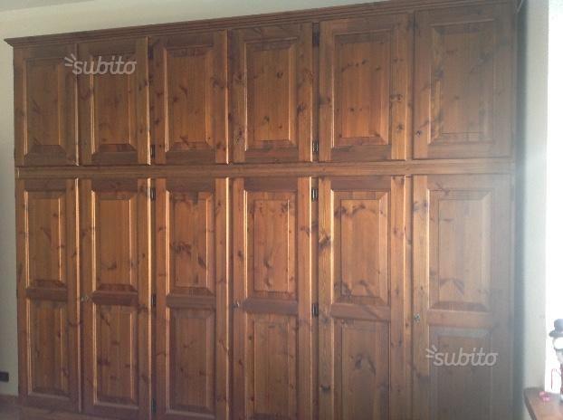 Arredamento Camera da letto in legno massello - Arredamento e Casalinghi In vendita a Torino