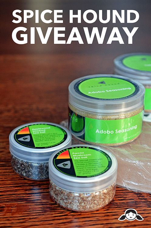 Spice Hound Giveaway by Michelle Tam http://nomnompaleo.com  (not pinning for giveaway. just wanted to remember the spice company name.)