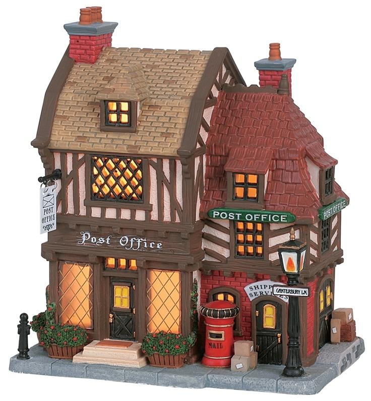 Tudor Post Office Lemax Caddington Lemax christmas