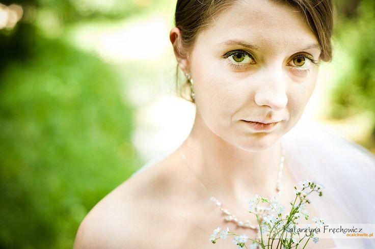 Fotografia ślubna Bielsko Portret Pani Młodej Zdjęcia ślubne Bielsko
