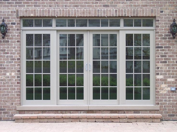 Exterior French Patio Doors | Sliding Patio Door Photo Gallery - Classic Windows, Inc.