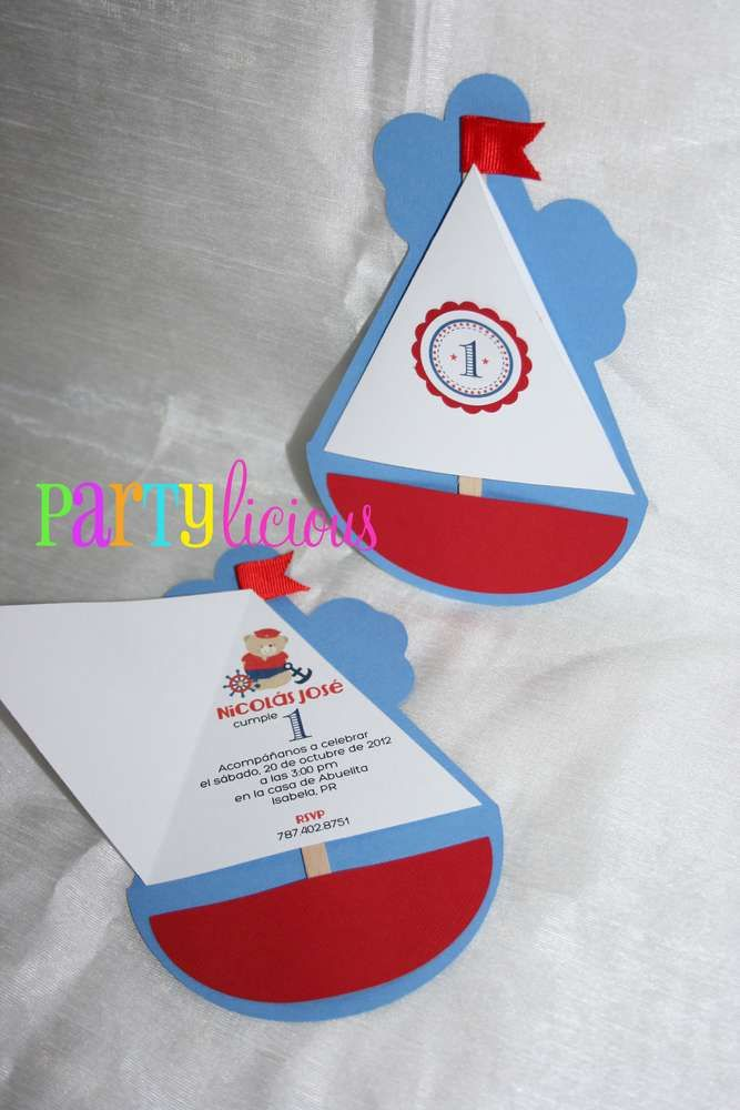 Sailor/nautical Birthday Party Ideas | Photo 6 of 22