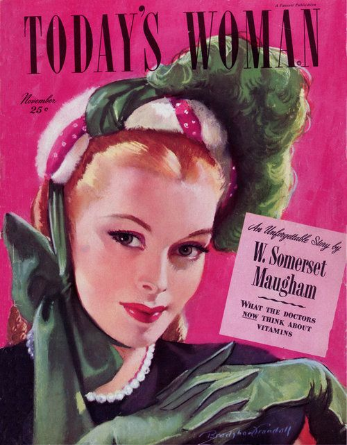 This magazine was published in 1953. The company should be fashion company, jewellery company or model company.The colour and apparel can show the feature of that year. From the one picture I can know the fashion in 1953. The audience should be some ladies who focus on fashion and beauty.