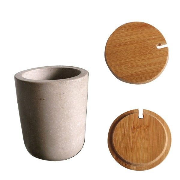 concrete homewares cement candle jars wholesale