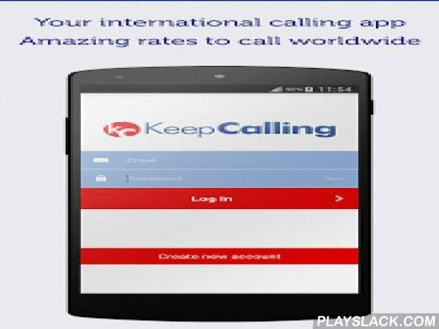 KeepCalling – Best Calling App  Android App - playslack.com ,  Save money on your international phone calls with KeepCalling app! Call internationally or send an SMS at great rates. Enjoy high quality VoIP calls, low rates and an easy to use service. It's time to save when you call internationally!Buy prepaid credit online and replace calling cards and phone cards with our free calling app. This way you can make cheap calls to Mexico, India, China, Colombia, Cuba, Thailand, Vietnam, Saudi…