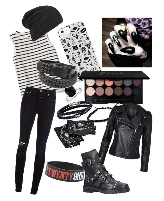 Untitled #6 by siandowse on Polyvore featuring polyvore, Gap, Vero Moda, Closed, Carvela, Hot Topic, Phillip Gavriel, Blue Nile, AllSaints, fashion, style and clothing