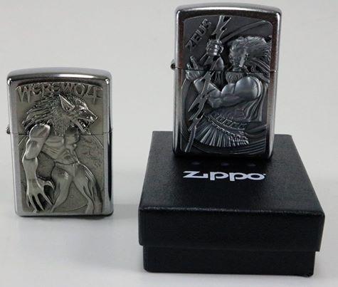 Enerjisi içine sığmayanlara özel 3D Zippo çakmaklar! Göklerin tanrısı #Zeus #WereWolf karşı karşıya gelirse ne olur? oyunları yeni yılda arkadaş sohbetlerinize farklı bir boyut katacak.