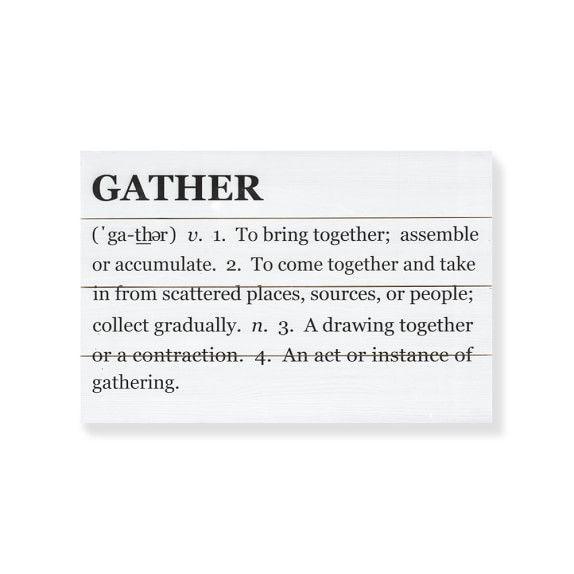 Gather Definition Wall Art