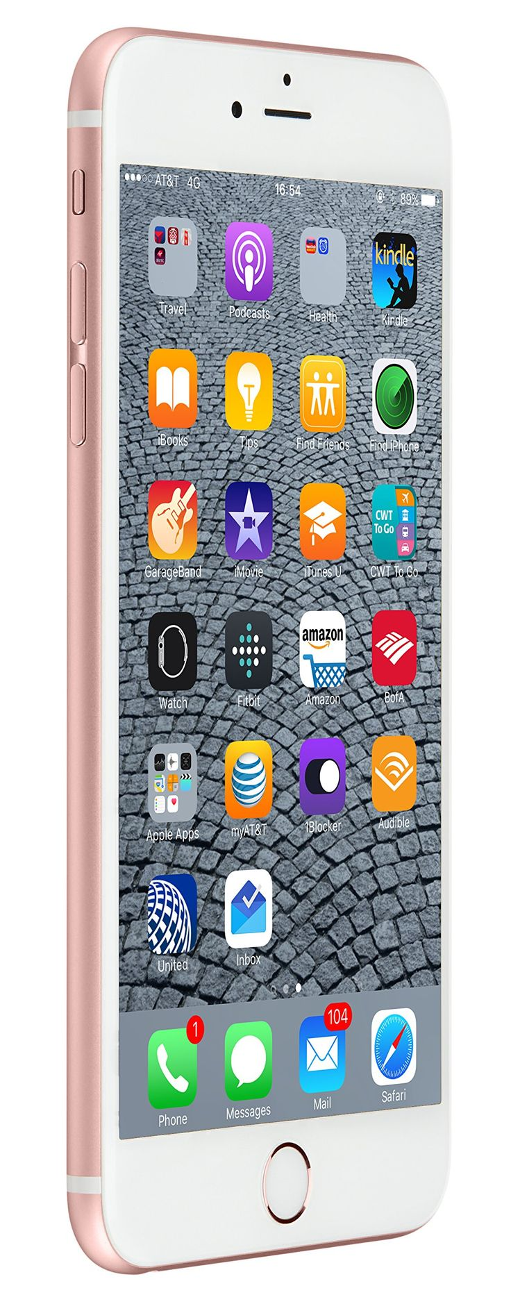 Apple iPhone 6s Plus 16 GB US Warranty Unlocked Cellphone - Retail Packaging (Rose Gold)