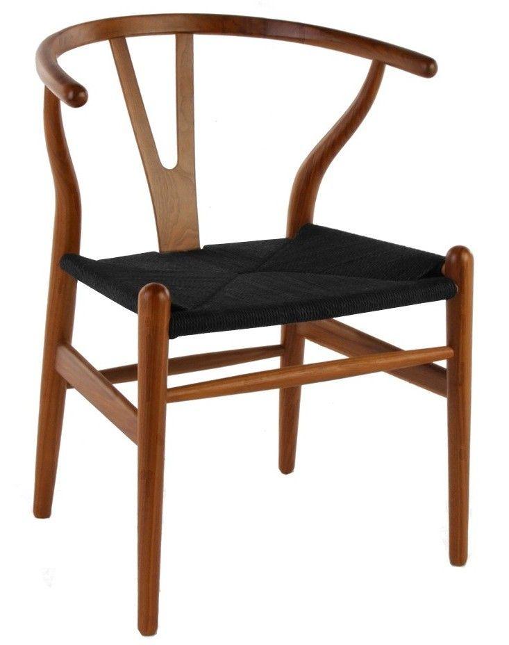 Hans Wegner Y-Chair Wishbone CH24 eetkamerstoel