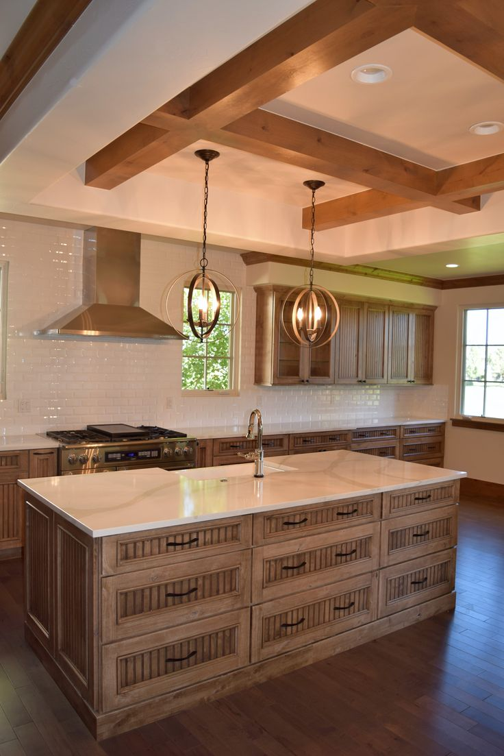 BKC Kitchen and Bath Medallion Cabinetry in a Cappuccino stain ...