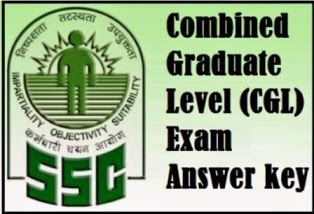 SSC CGL Tier-1 30th August 2015 Answer Key