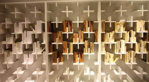 Smart bookcase idea