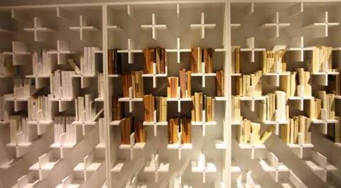 Smart bookcase idea