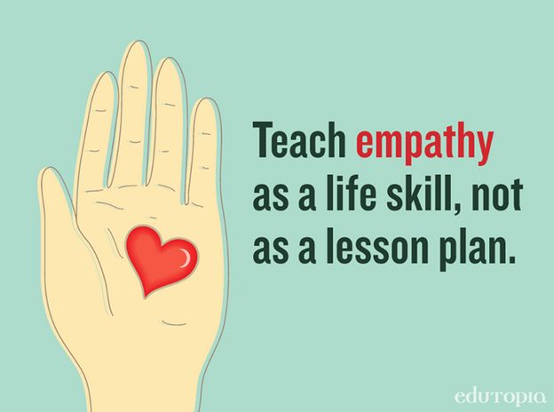 Educational empathy = learning by doing. Learn how to teach it with these great tips.