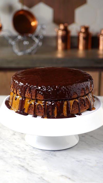 Você nunca viu um bolo de pão de mel tão gostoso e perfeito quanto esse aqui!