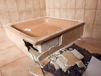 Probleme beim Einbau der ebenerdigen Dusche könne…