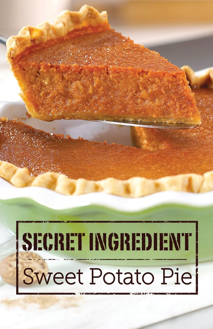 "What makes this Sweet Potato Pie richer and more flavorful than the rest? The ""secret"" ingredient is a can of tomato soup. Try this recipe out, and you'll see!"