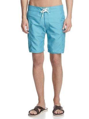 60% OFF TRUNKS Men's Salty Boardshorts (Turquoise)