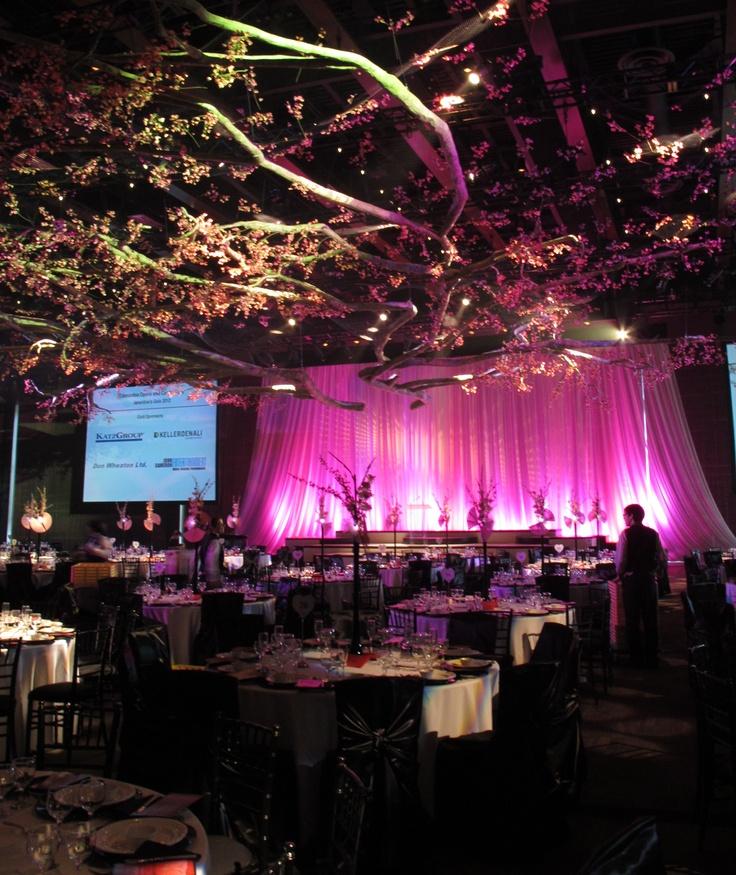 Edmonton Opera chose a Japanese cherry blossom