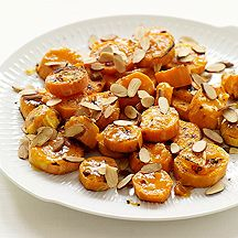 Made these tonight.  They are delicious, and I don't even usually like sweet potatoes! Apricot and Ginger-Glazed Sweet Potatoes