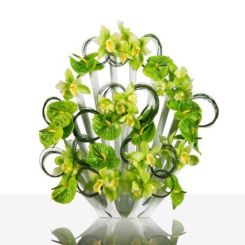 Aprilli Peacock Vase