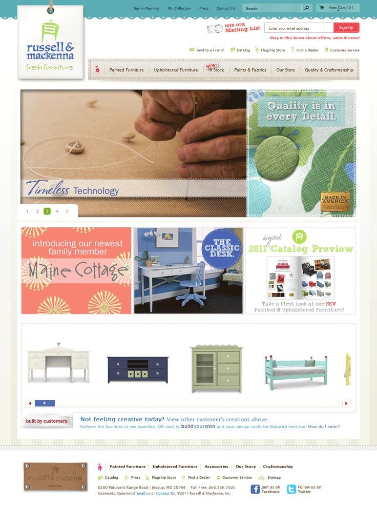#eCommerce website sample