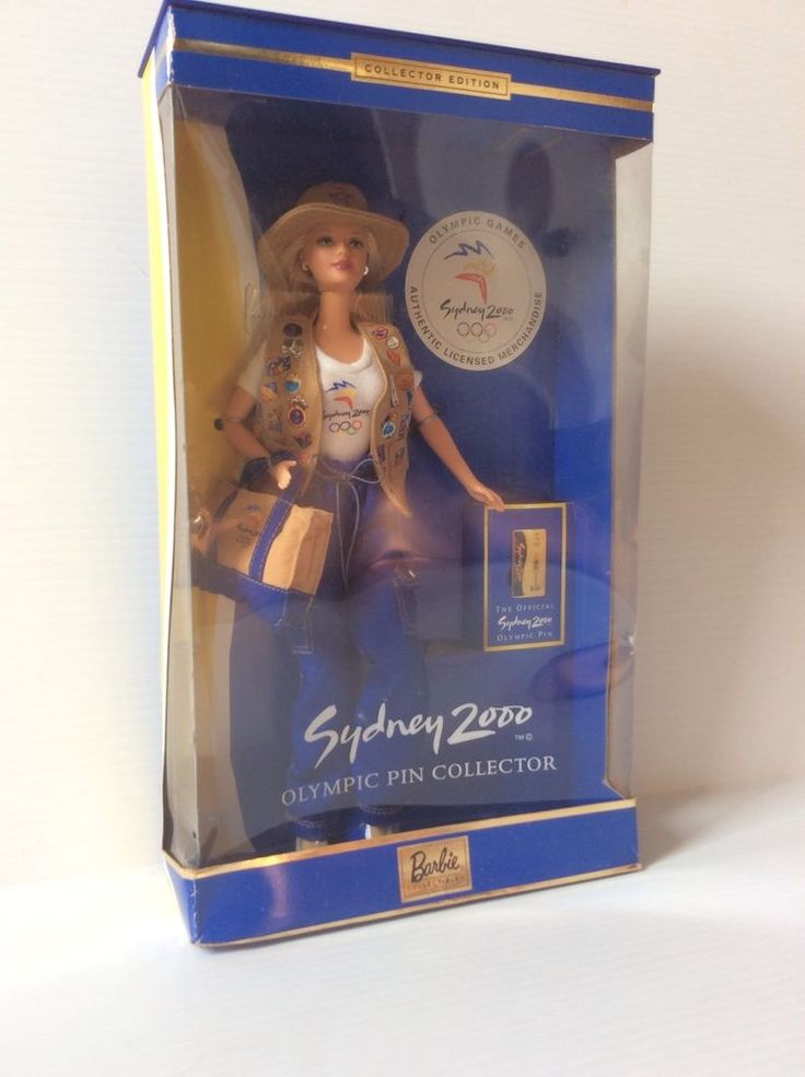 Sydney 2000 Olympic Barbie Collector Edition Pin Games New Vintage  | eBay