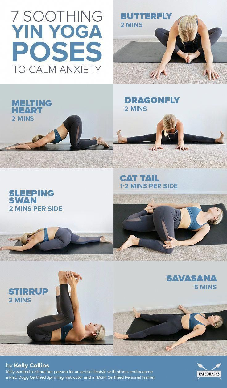 Easy Yoga Poses For Anxiety