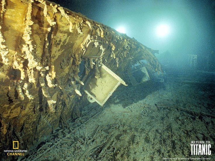 titanic pictures   Titanic Underwater Pictures -US ...