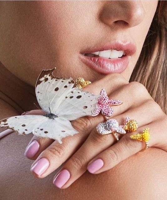 SWAROVSKI - nova coleção de jóias coloridas