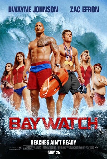 """Adaptación al cine de la serie """"Los vigilantes de la playa"""". Narra la historia del esforzado socorrista Mitch Buchannon (Johnson) y su choque de carácter con un bravucón socorrista novato (Efron). Juntos, descubren una trama delictiva local que amenaza el futuro de la Bahía."""